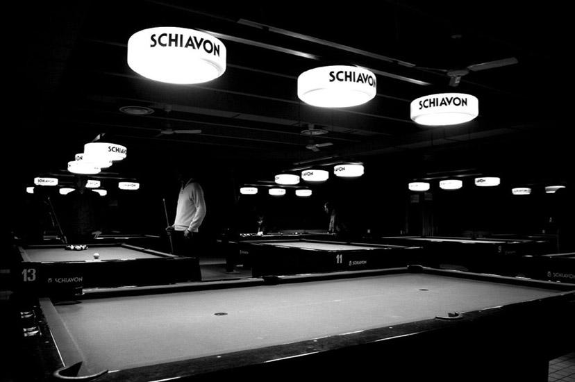 Biliardi Schiavon foto storica