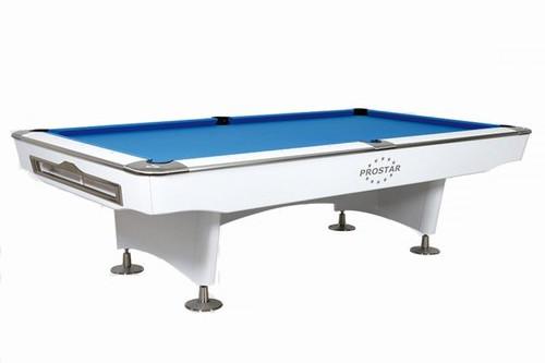 Biliardo pool Prostar bianco